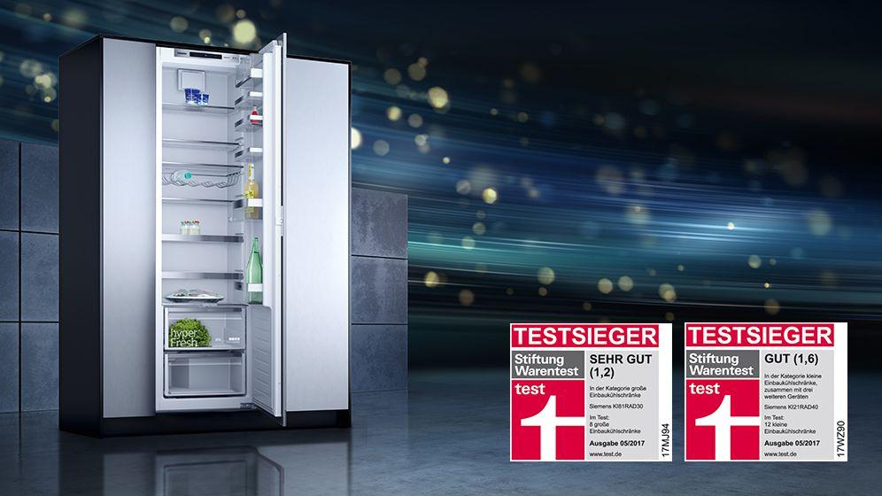 Siemens Kühlschrank Test : Siemens: testsieger hausgeräte hausgeräte huesmann in herbern